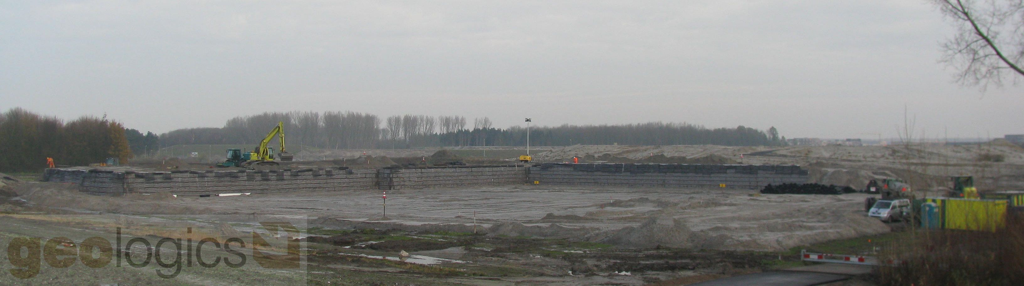 Gewapende grond CSMART Carnival Almere